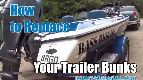 How to Replace your Trailer Bunks